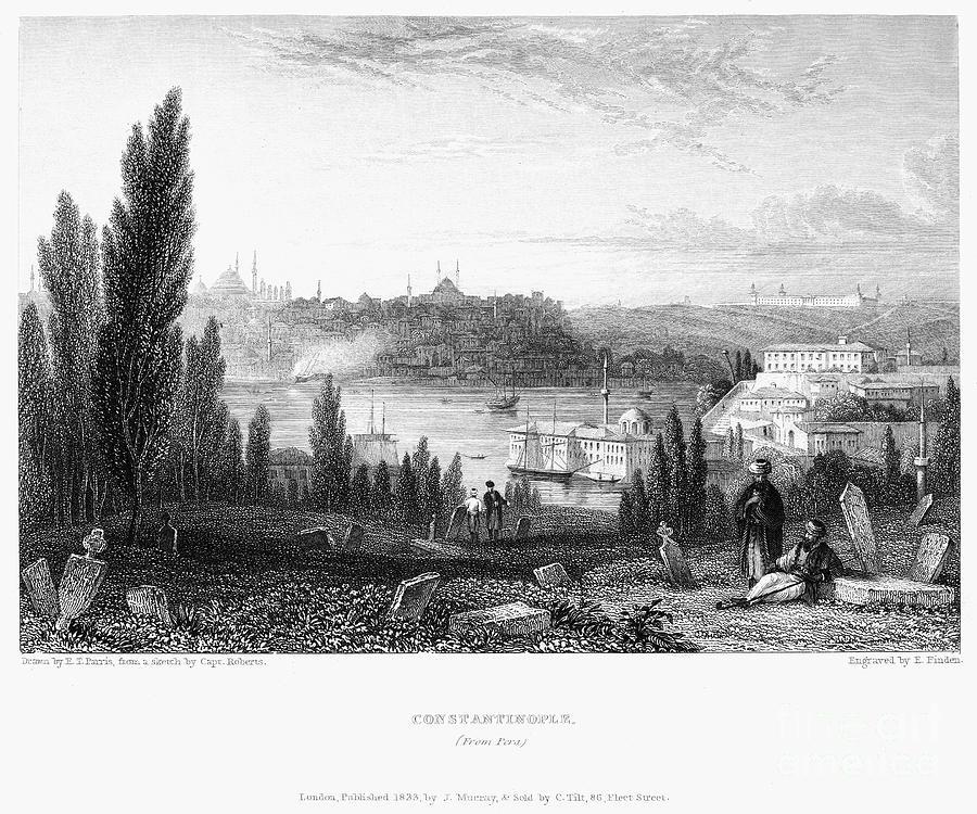 Constantinople, 1833 Photograph