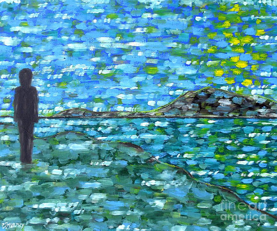 Contemplation 2 Painting  - Contemplation 2 Fine Art Print