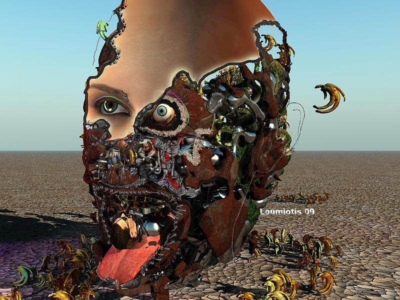 Contemporary Cannibal Digital Art