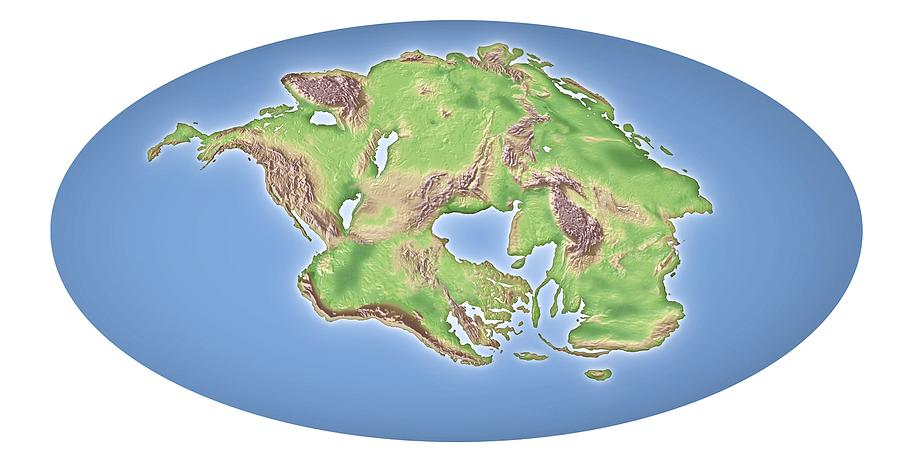Continental Drift After 250 Million Years Photograph by ...