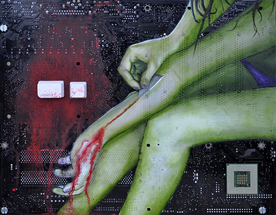 Control X  Painting