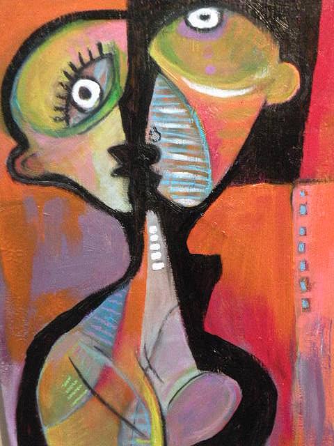 Conversation IIi Painting