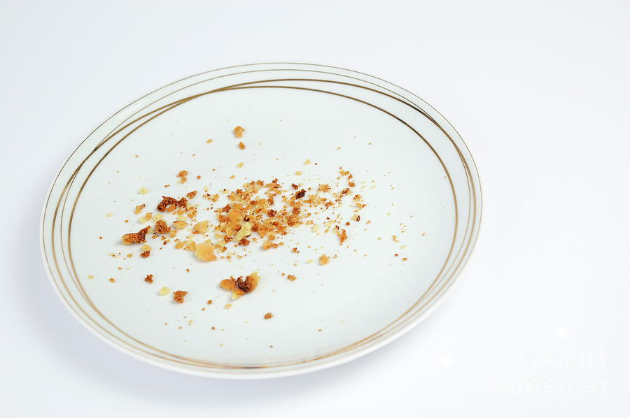 Pictures of Empty plate is098sl98 - Search Stock Photos, Images, Print Photographs, and Photo ... |Empty Plate With Crumbs Clipart