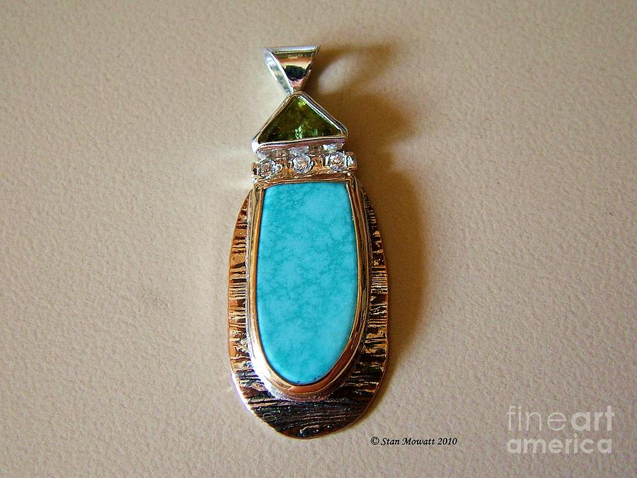 Cool Blue Waters Jewelry  - Cool Blue Waters Fine Art Print
