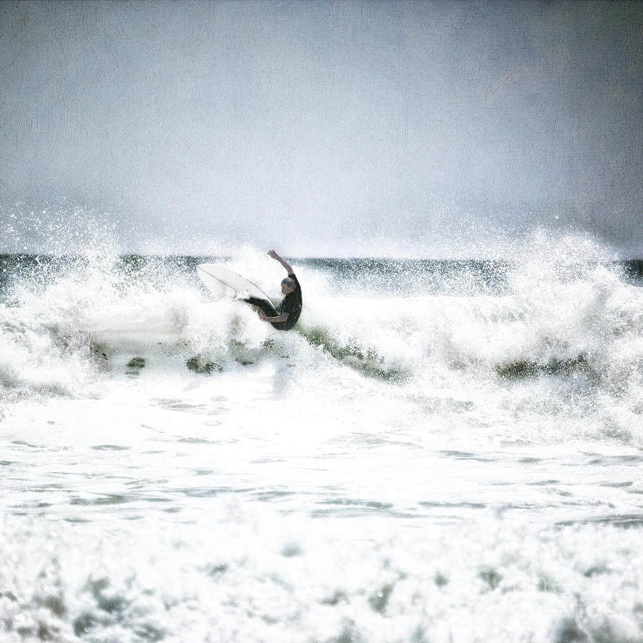 Cool Surfer Digital Art  - Cool Surfer Fine Art Print