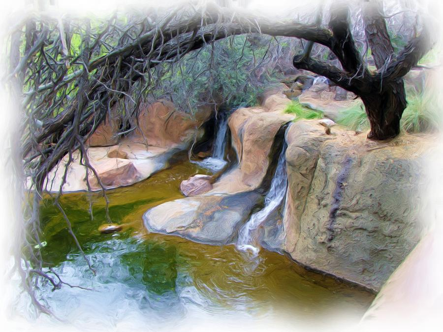 Water Photograph - Cool Waters by FeVa  Fotos