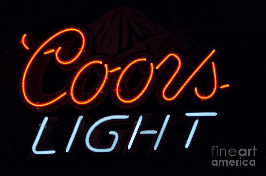 Coors Light Photograph