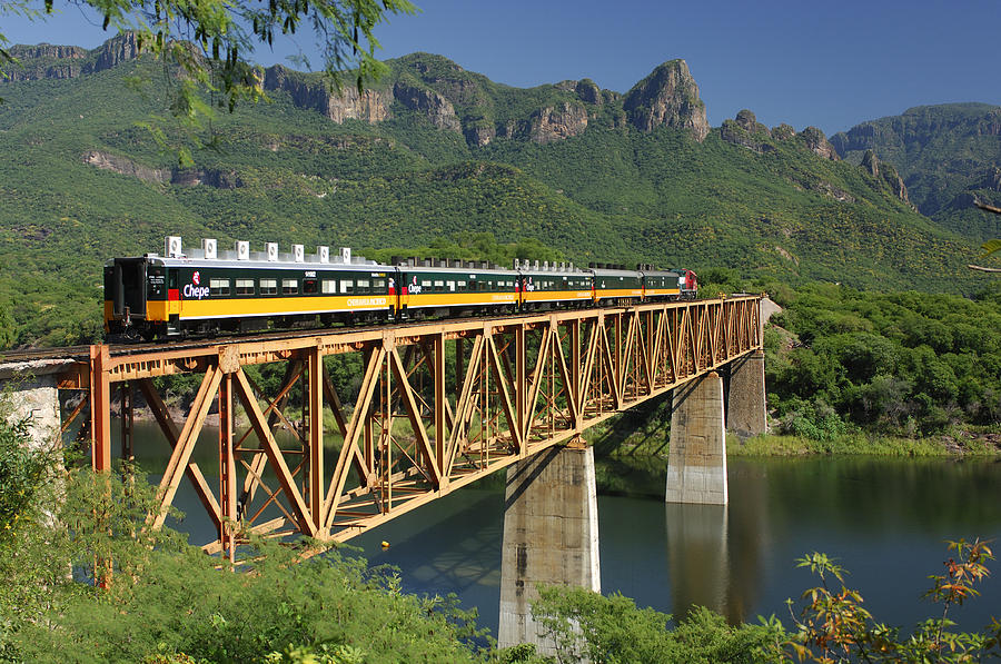 Copper Canyon Train
