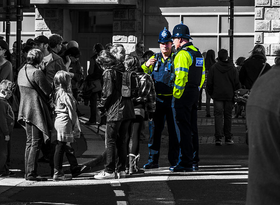 Police Photograph - Coppers by Paul Howarth