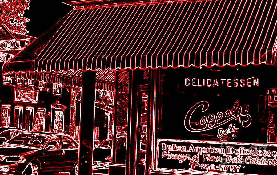Coppolas Cary St Photograph  - Coppolas Cary St Fine Art Print