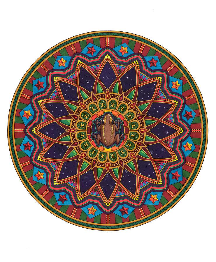 Coqui Mandala Painting