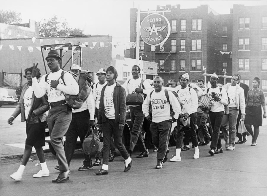 Core Members Swing Down Fort Hamilton Photograph