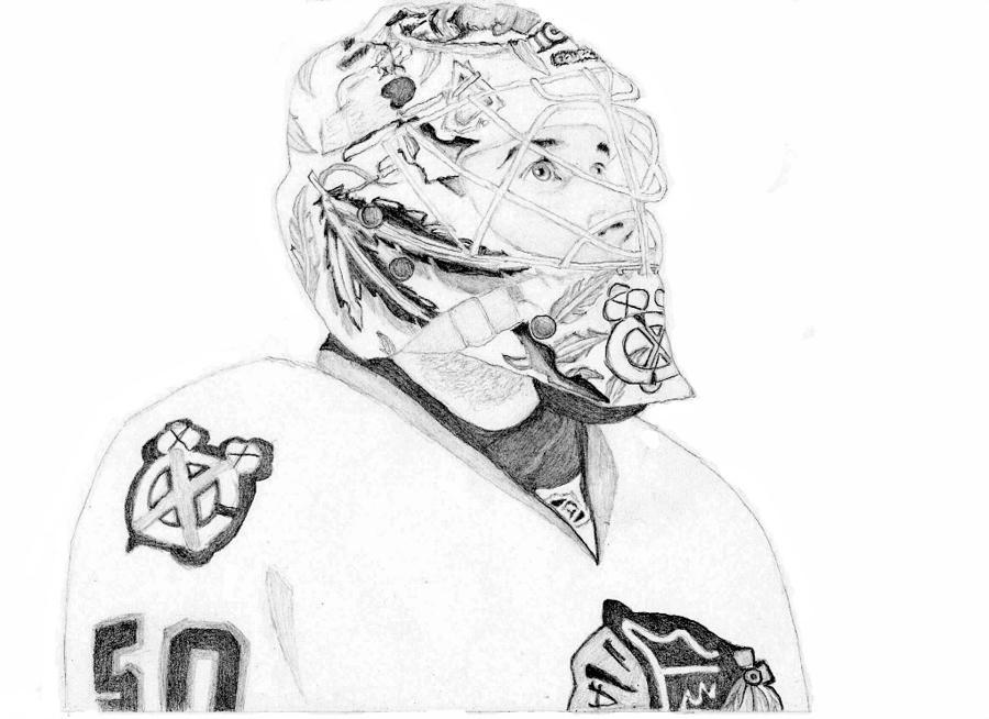 Corey Crawford Drawing