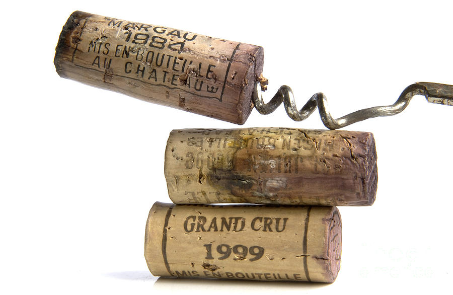Cork Of French Wine Photograph