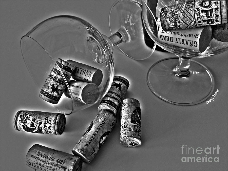 Corks Photograph - Corks 3 by Cheryl Young