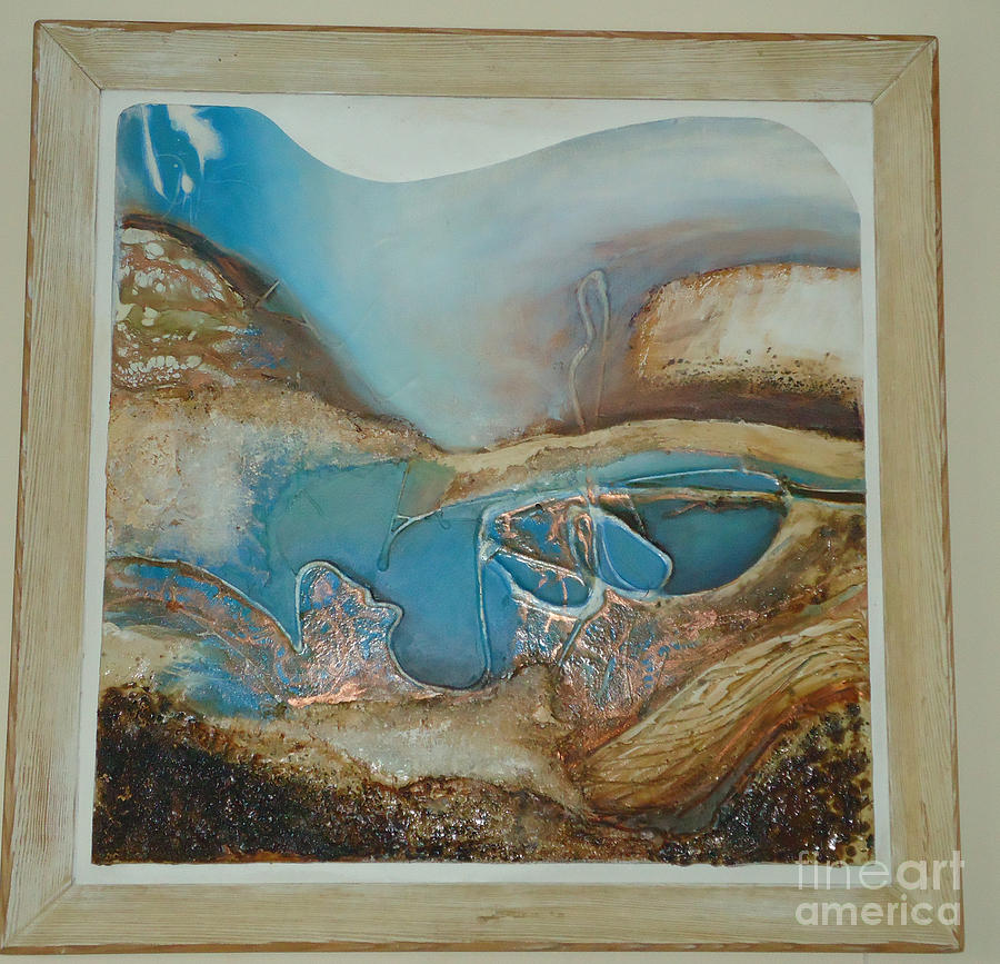 Cornwall Painting - Cornish Vibe by Amy Jo