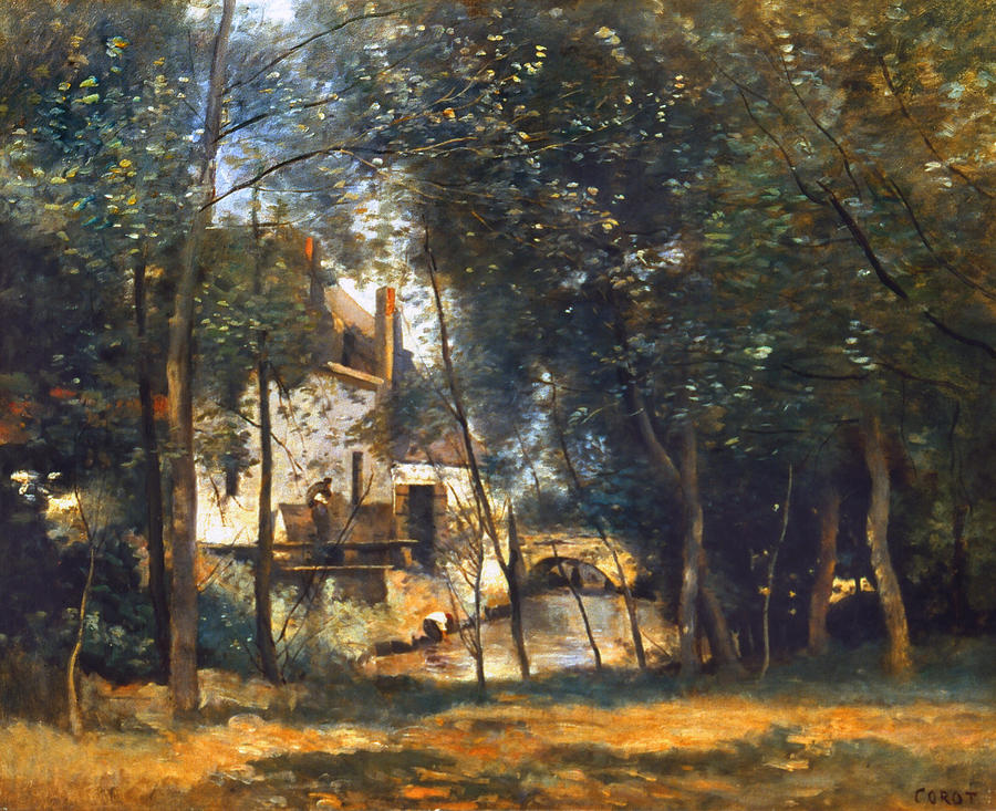 Corot - The Mill Photograph