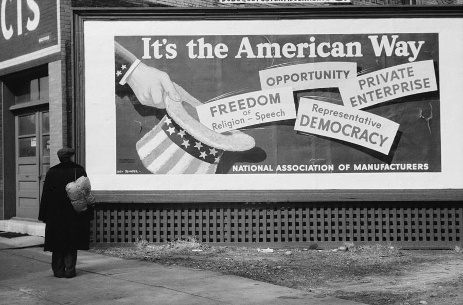 Corporate Resistance To Fdrs New Deal Photograph  - Corporate Resistance To Fdrs New Deal Fine Art Print