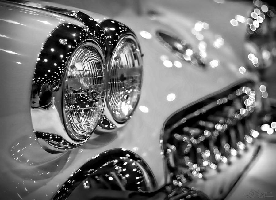 Corvette Bokeh Photograph