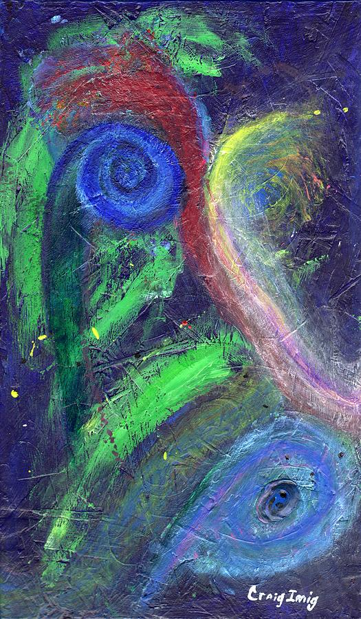 Cosmic Activity # 7 Painting