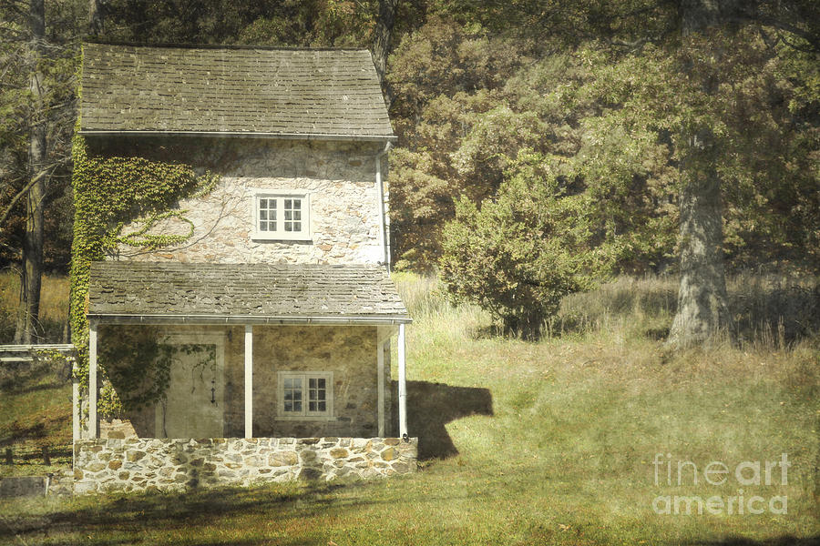 Cottage Charm Photograph  - Cottage Charm Fine Art Print