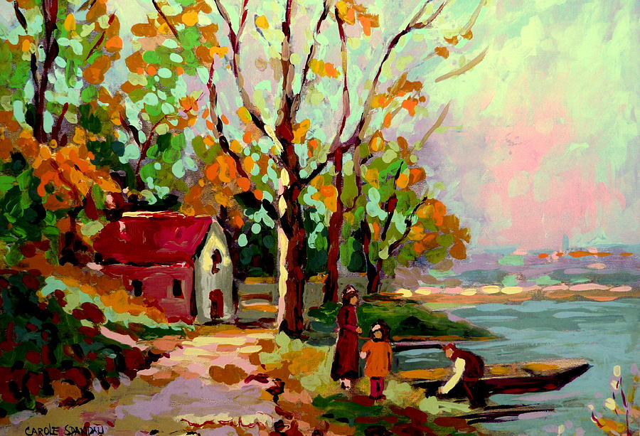 Cottage Country The Eastern Townships A Romantic Summer Landscape Painting