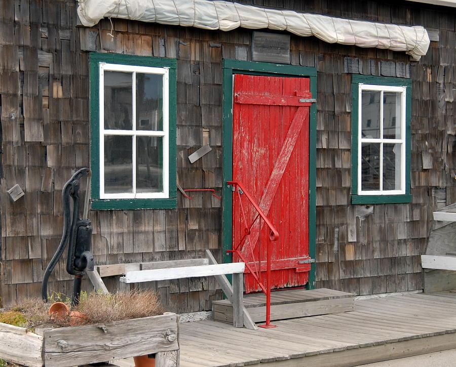 Cottage Door Photograph