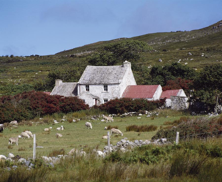 Architecture Photograph - Cottage, Ireland by The Irish Image Collection