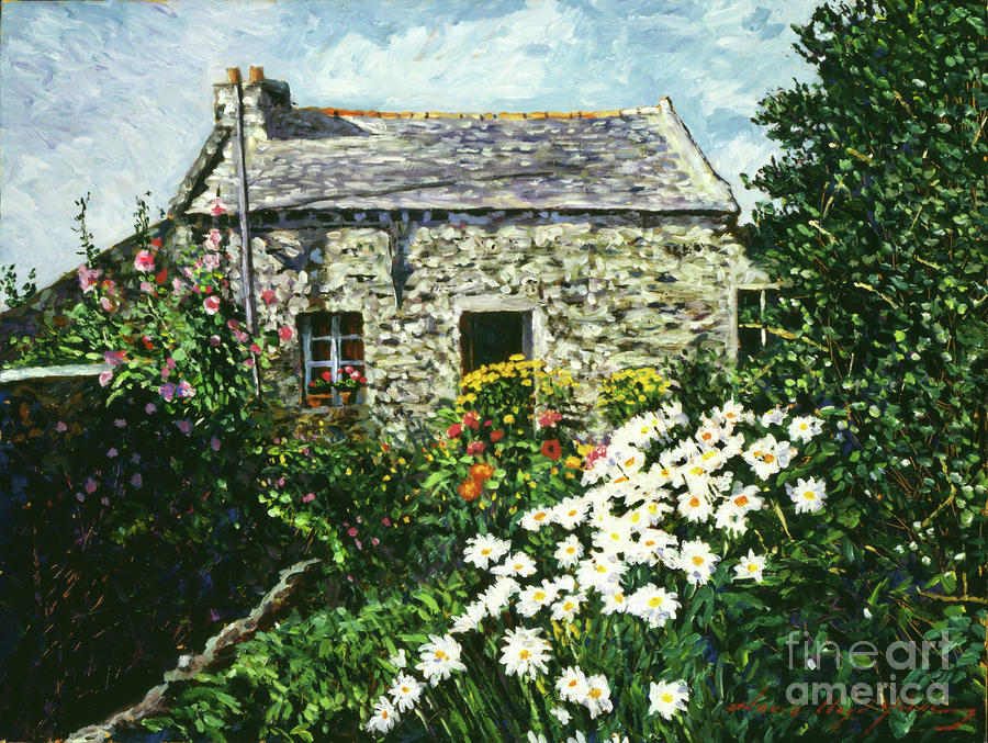 Cottage Of Stone Painting