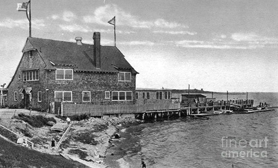 Cottage Park Yacht Club 1902 Photograph