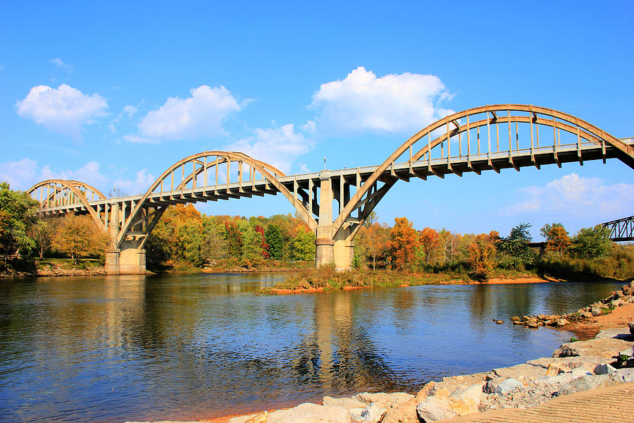 Cotter Arkansas Bridge Photograph  - Cotter Arkansas Bridge Fine Art Print
