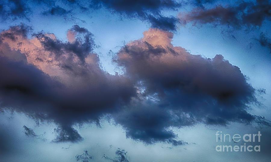 Cotton Candy Sunset Photograph