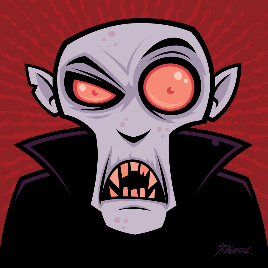 Count Dracula Drawing
