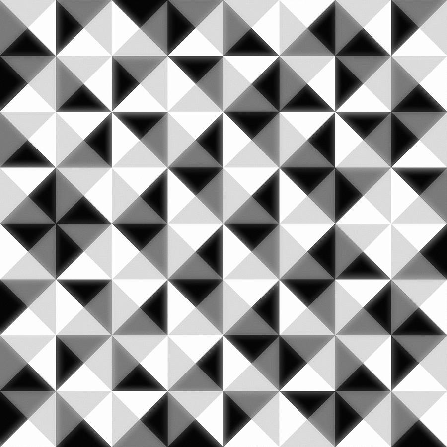 Count The Squares Digital Art