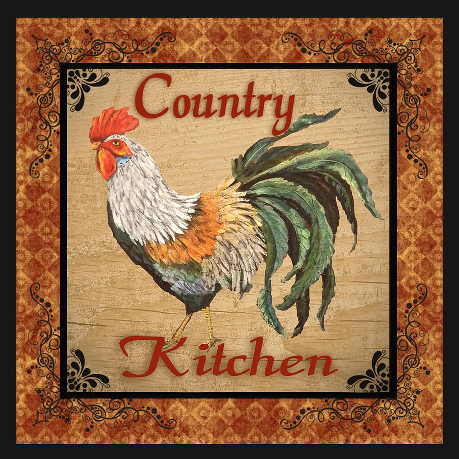 Country Rooster Pictures