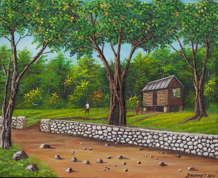 Country Living Painting By Floyd Barrett
