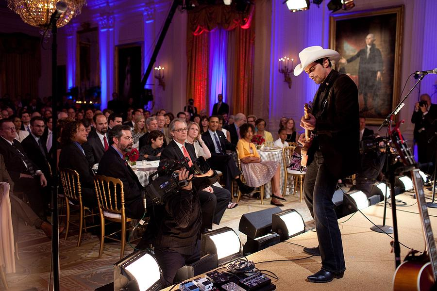 History Photograph - Country Singer Brad Paisley Performs by Everett