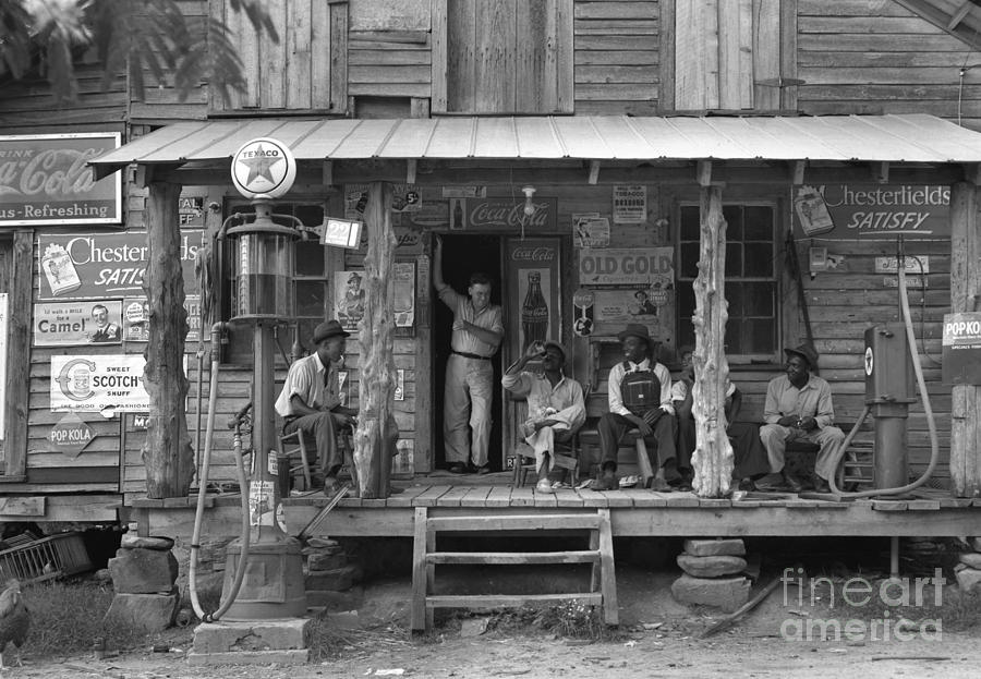 Country Store, 1939 Photograph  - Country Store, 1939 Fine Art Print