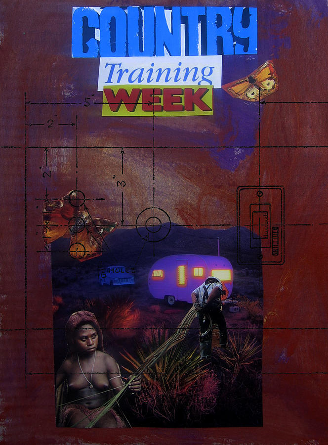 Country Training Week Mixed Media  - Country Training Week Fine Art Print