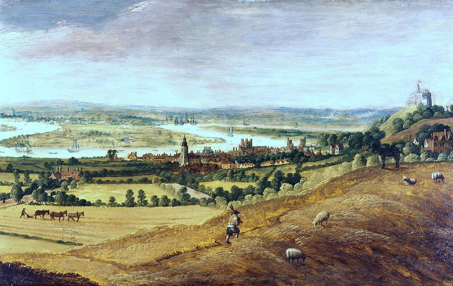 Countryside In London, England, 17th Century Photograph  - Countryside In London, England, 17th Century Fine Art Print