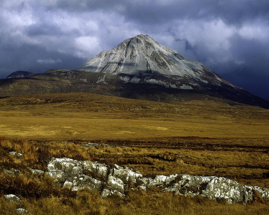 County Donegal, Mount Errigal, Ireland Photograph by The Irish Image ...
