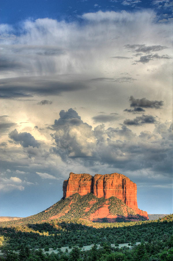 Courthouse Rock I - Sedona Arizona Photograph  - Courthouse Rock I - Sedona Arizona Fine Art Print