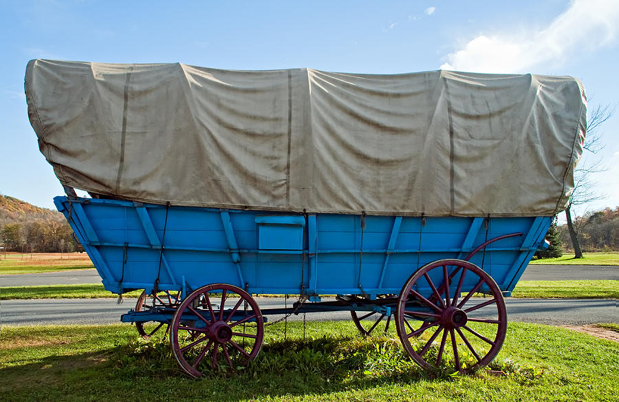 Covered Wagon Photograph