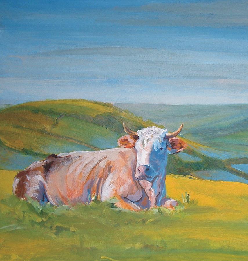 Caroline Walker Cow Paintings For Sale