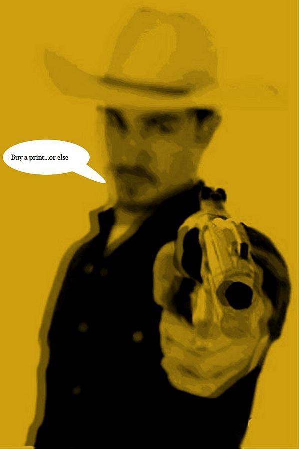 Cowboy Digital Art - Cowboy  by Chandler  Douglas