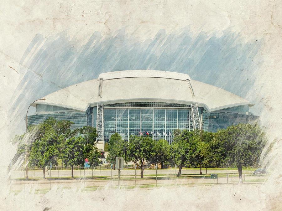 Cowboys Stadium Photograph