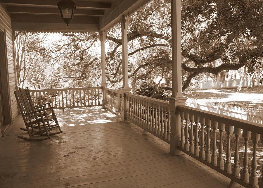 Cozy Southern Porch Photograph