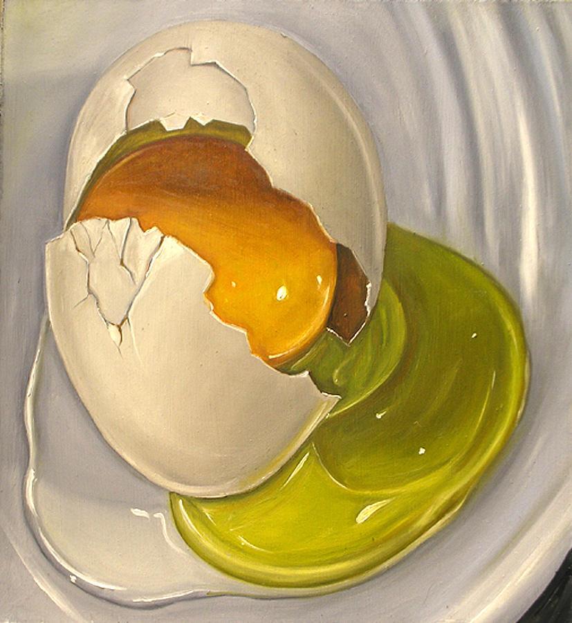Egg Paint Canvas