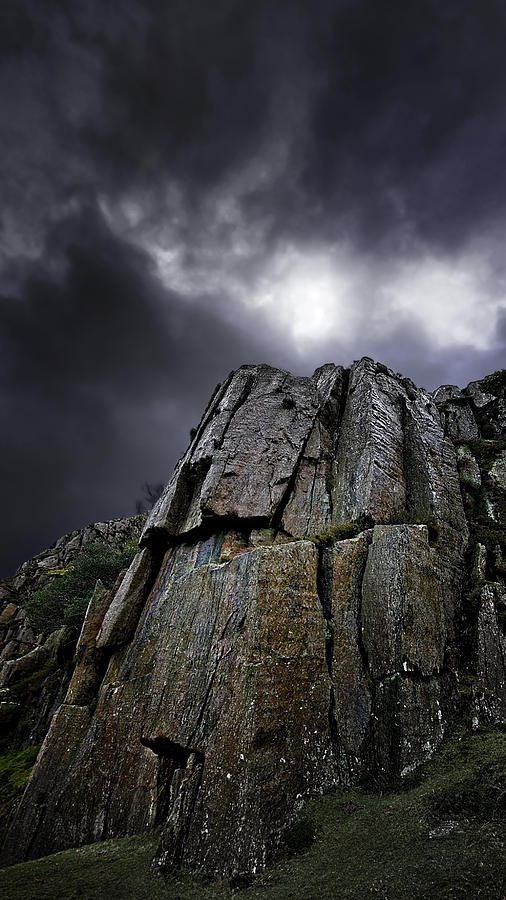 Crags Photograph  - Crags Fine Art Print
