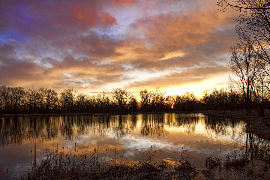Crane Hollow Sunrise Boulder County Colorado Photograph